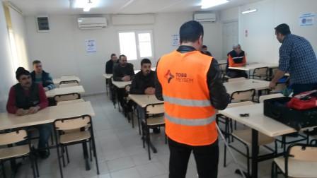 MESLEKİ YETERLİLİK BELGESİ MAKİNE BAKIMCI SINAVI YAPILDI.(17.12.2017)