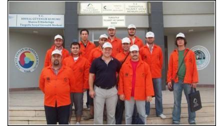 İnşaat Mühendisleri Odası İzmir Şubesinin Tuğla Duvar Kursu