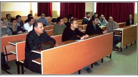 Ege Üniversitesi Makina Mühendisliği Fakültesinde Seminer